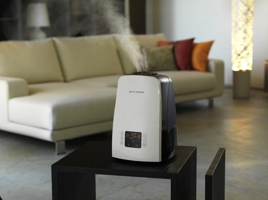 Для профилактики фарингита рекомендуется увлажнять воздух в помещении