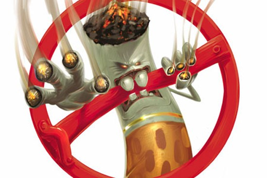 При заболевании вирусным фарингитом необходимо полностью исключить курение