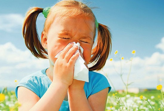 Аллергический кашель у девочки