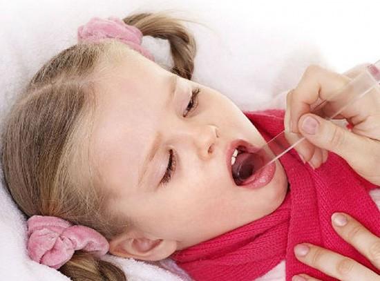 Мокрота в горле у ребенка