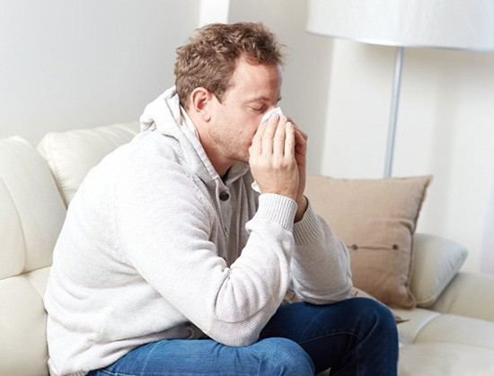 Кровь из носа при насморке
