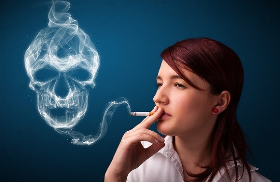 Курение является одной из причин неинфекционного фарингита
