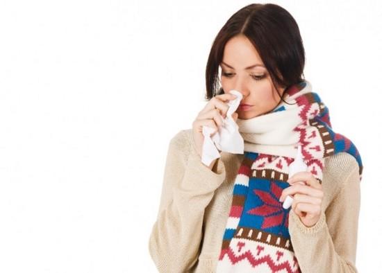 Прогревание горла