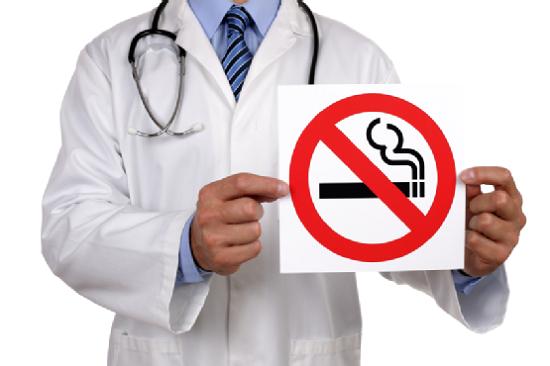 Курение вызывает фарингит