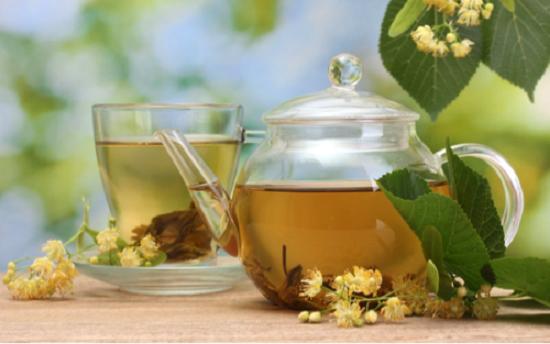 Липовый чай при лечении фарингита