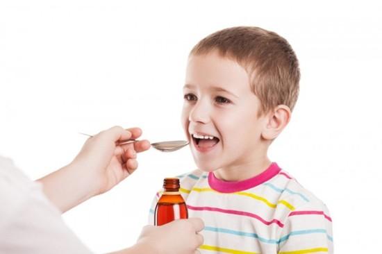 Аугментин в виде сиропа удобен для детей