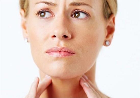 Симптомы полипов в горле