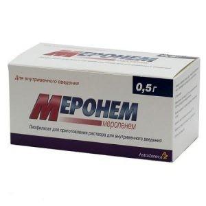 Цефалоспорин 4 поколения Меронем