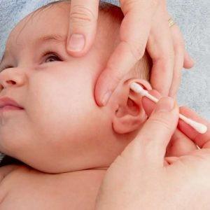 Ушная гигиена у грудничка