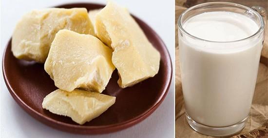 Рецепт: масло какао с молоком